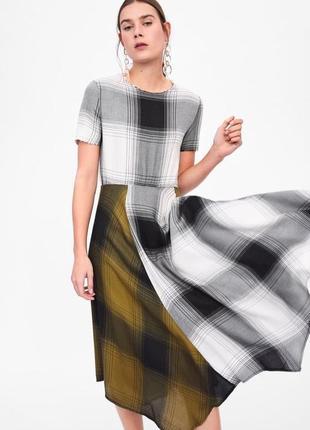 Zara платье в клітку, s7 фото