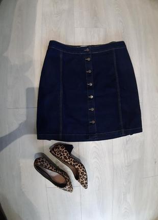 Джинсовая юбка большого размера.  uk 20
