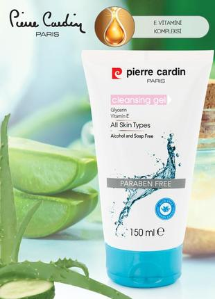Pierre cardin face cleansing gel 150 ml - гель для умывания