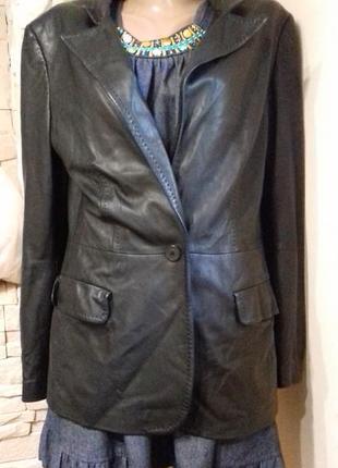 Шкіряна куртка (жакет)  (max mara італія