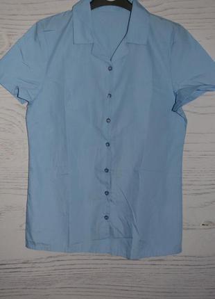 Рубашка школьная для девочки george англия размер 14-15 лет