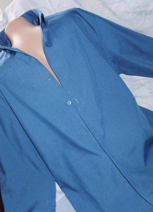 Tailor рубашка муж рр 16 1/2 синяя