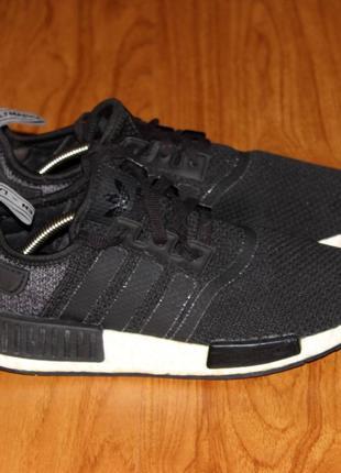 Чоловічі кросівки (мужские кроссовки) adidas nmd r1 'black grey wool'