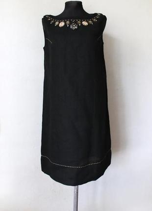 Платье 100% лен maliparmi италия