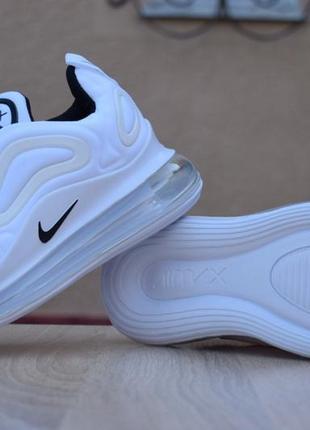 Шикарные женские кроссовки nike air max 720 white белые4 фото