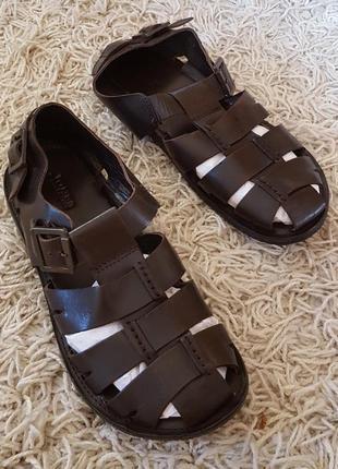 Кожаные сандалии jones bootmaker англия2 фото