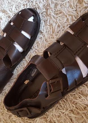 Кожаные сандалии jones bootmaker англия