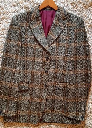 Эксклюзивный твидовый пиджак country tweed