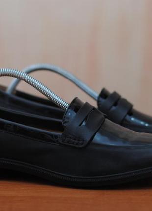 Черные мужские кожаные туфли hotter, 41 размер. оригинал