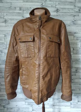 Куртка мужская colin's кожа