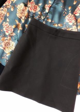 Красивая юбка с карманами1 фото