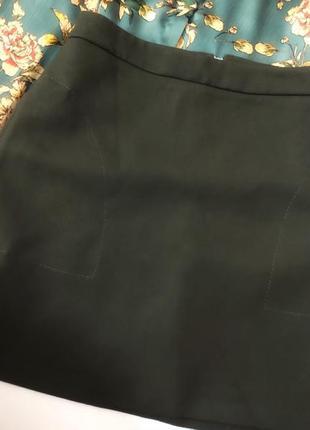 Красивая юбка с карманами4 фото