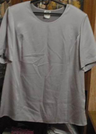 Красивейшая - благородная и нежная  силуэтная блуза и  классные футболки1 фото