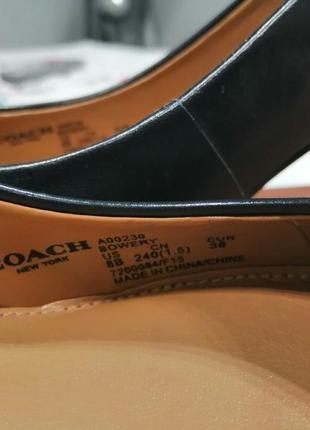 Продам свой пролет – женские туфли coach.4 фото