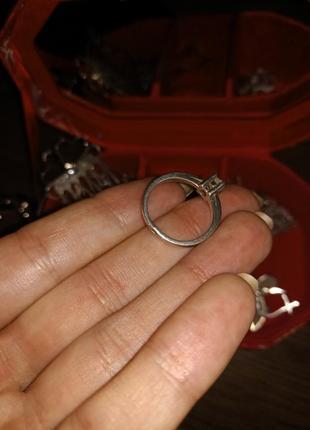 Кольцо серебряное3 фото