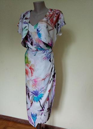 Шикарное легкое брендовое платье от asos1 фото