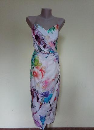 Шикарное легкое брендовое платье от asos5 фото