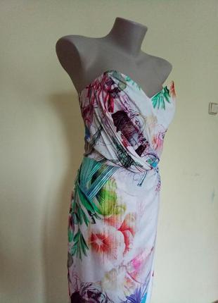 Шикарное легкое брендовое платье от asos6 фото