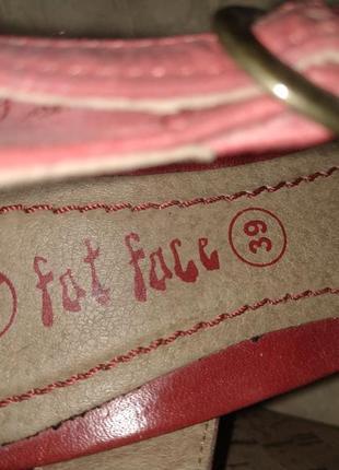 Босоножки fat face натуральная кожа 38 размер7 фото