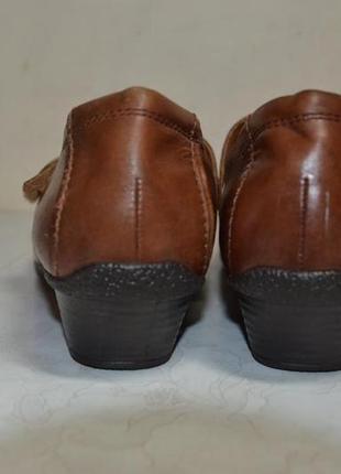 Женские  кожаные  туфли  medicus4 фото