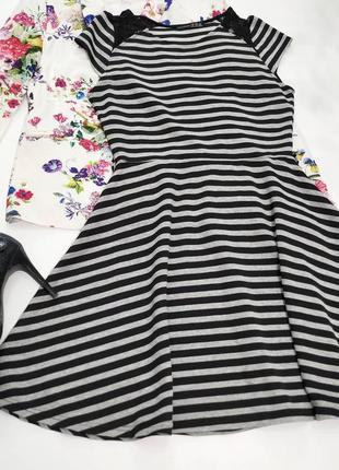 ❤️приталенное плотное платьице3 фото