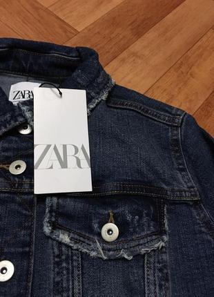 Джинсовая куртка zara6 фото