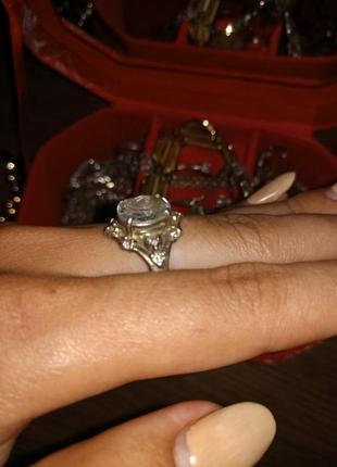 Кольцо серебряное2 фото