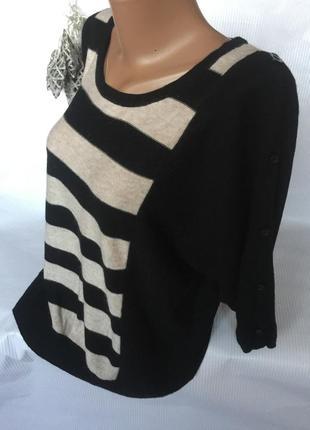 Шикарный нежный свитер с коротким рукавчиком2 фото