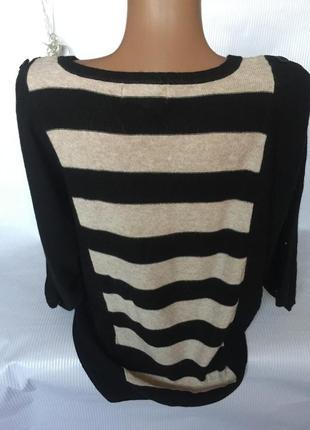 Шикарный нежный свитер с коротким рукавчиком3 фото