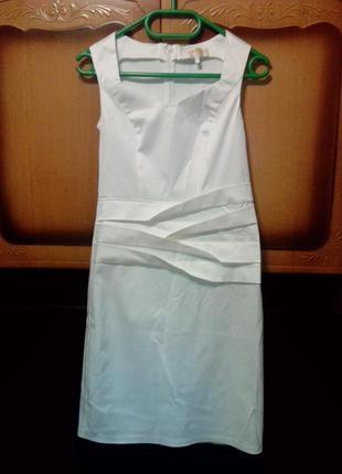 Обалденно красивое белое платье