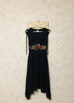 Платье шелк karen millen!1 фото