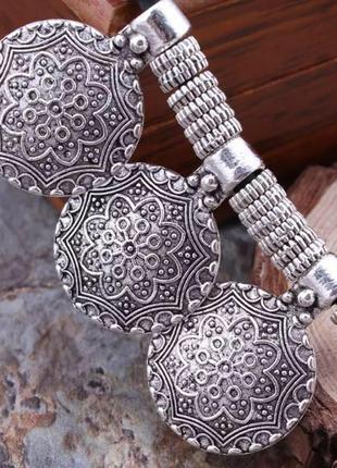 Шикарное ожерелье в этническом стиле5 фото