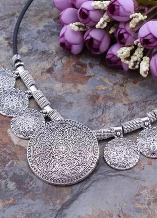 Шикарное ожерелье в этническом стиле6 фото