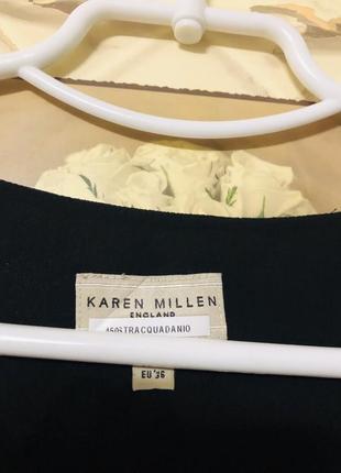 Платье шелк karen millen!7 фото