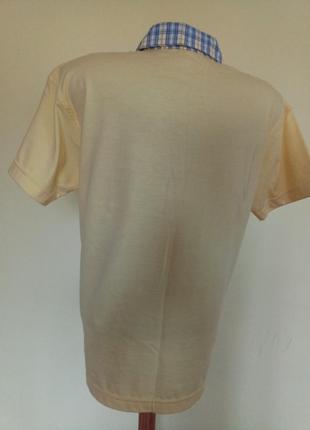 Хлопковая футболка тенниска4 фото
