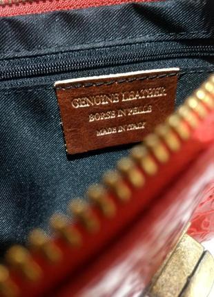 Стильная сумочка-клатч из натуральной кожи.6 фото