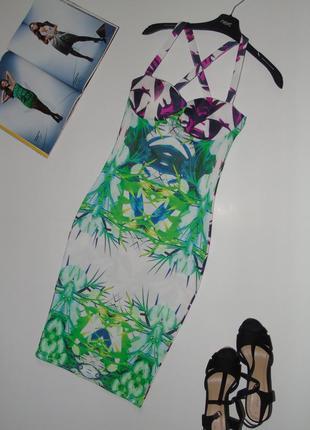 Интерессное платье миди3 фото