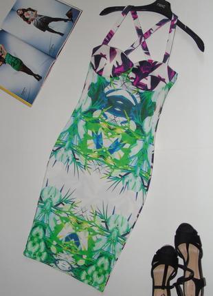 Интерессное платье миди1 фото