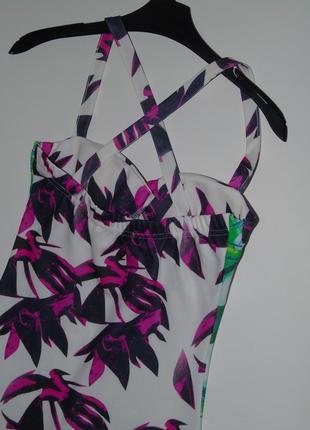 Интерессное платье миди5 фото