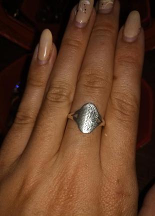 Кольцо серебряное1 фото