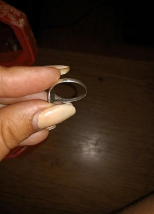 Кольцо серебряное4 фото