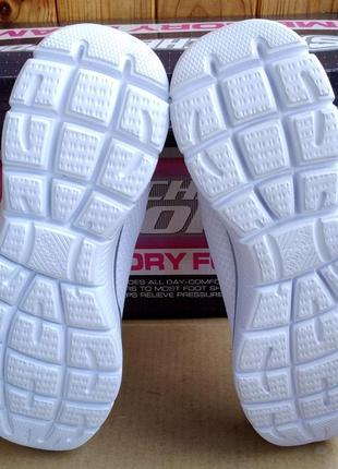 Супер стильные удобные новые лёгкие кроссовки skechers memory foam в коробке7 фото