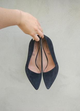 Туфлі з натуральної замші 5th avenue р. 383 фото