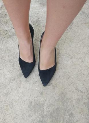 Туфлі з натуральної замші 5th avenue р. 385 фото