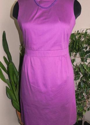 Эксклюзивное сиреневое платье по фигуре1 фото