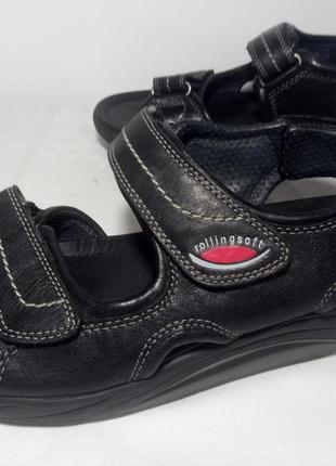 Кожаные сандалии,босоножки  gabor rollingsoft (габор роллингсофт)3 фото