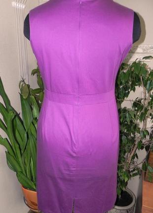 Эксклюзивное сиреневое платье по фигуре3 фото
