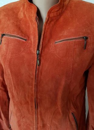 100% натуральна шкіра 🔥🔥🔥шикареа куртка1 фото