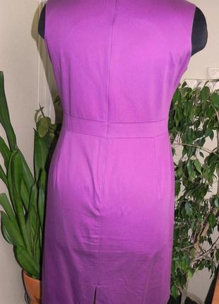 Эксклюзивное сиреневое платье по фигуре4 фото