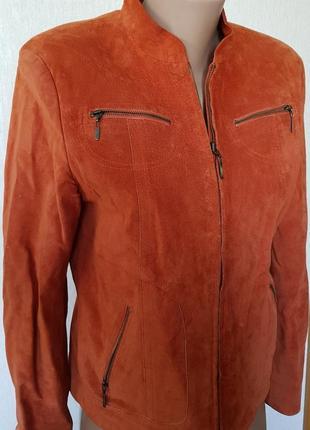 100% натуральна шкіра 🔥🔥🔥шикареа куртка5 фото